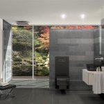 Ciemne łazienki wracają do łask – podpowiadamy, jak urządzić je stylowo i z korzyścią dla niewielkiego metrażu