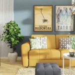 Szczęście, słońce, radość – wybieramy żółte meble do salonu