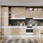 We wnętrzach kuchennych wybieramy ciekawe połączenia modułów i dekorów